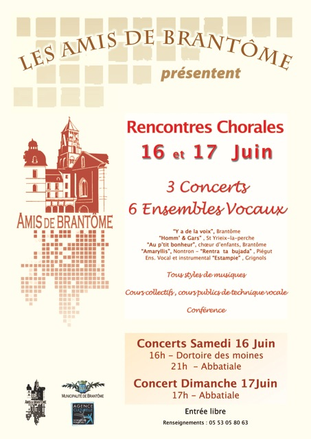 rencontres chorales de versailles 2012