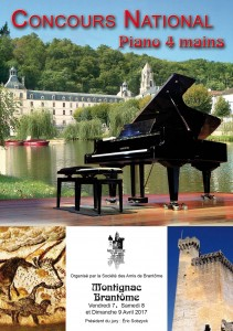 Concours national Piano 4 mains 2017