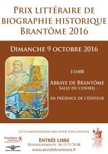 Brantôme : le Prix littéraire de biographie historique fête ses 10 ans avec Goya !