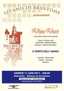 Affiche Concert 110611