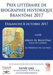 Emmanuel de Waresquiel, Prix Brantôme 2017 de biographie historique.