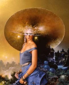 Parfumer un rêve - 2004 - huile, 46 x 34