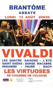 Les Virtuoses de chambre de Cologne à Brantôme
