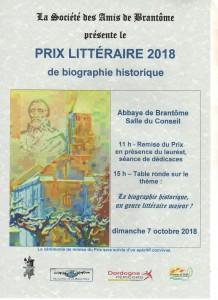 """Avec son """"Montaigne"""", Arlette Jouanna est couronnée Prix littéraire Brantôme 2018."""