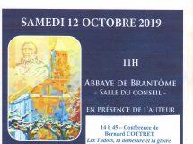 Patrick Tudoret, lauréat du Prix littéraire Brantôme 2019.
