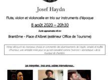 Soirée Haydn à Brantôme